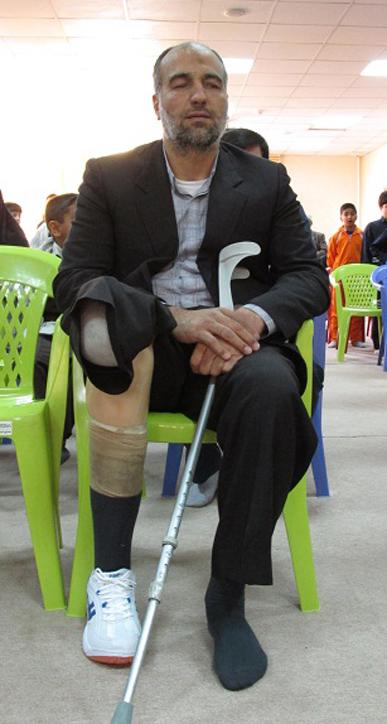 شهید اراکی که زنده شد و پایش جا نماند+تصاویر