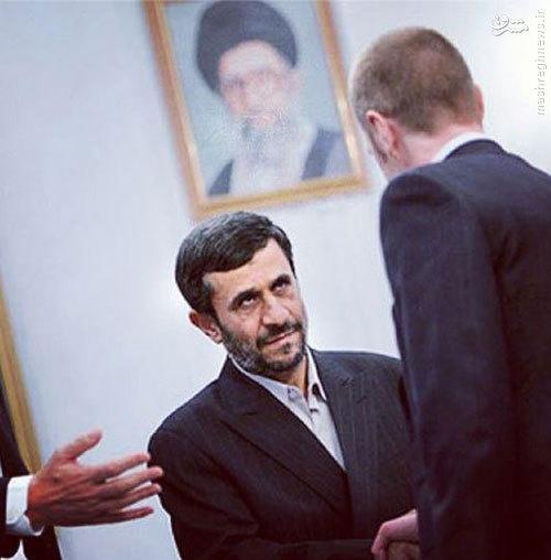 عکس اینستاگرامی احمدی نژاد
