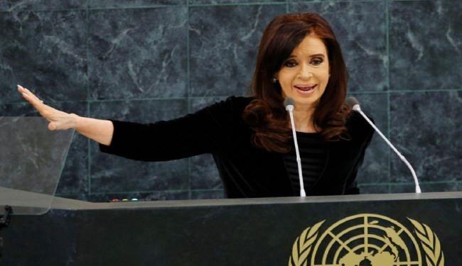رئیسجمهور آرژانتین سازمان ملل را منفجر کرد!