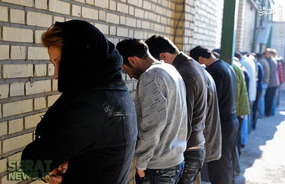 عکس/بازداشت شراره، موادفروش تهران