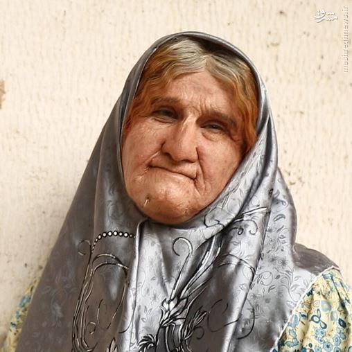 عکس/گریم خارقالعاده محسن تنابنده