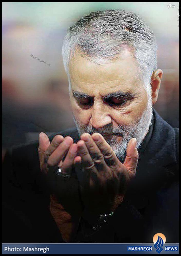 عکس/ ترسناک ترین چهره «قاسم سلیمانی» برای «شیطان بزرگ»