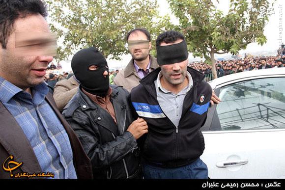 اعدام یک محارب در مشهد+تصاویر