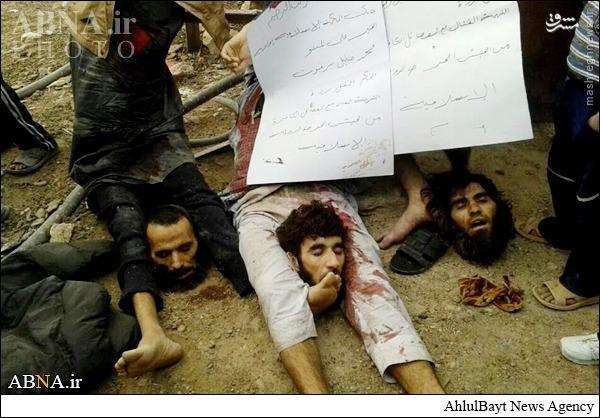 عکس/ داعش سه نفر دیگر را سر بُرید(18+)