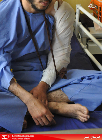 پزشک بیمارستان طلبه را از اراذل خواند / کوتاهی اورژانس در کمکرسانی / پلاک ماشین ضاربان شناسایی شد+تصاویر
