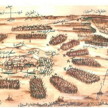 ورود اباعبدالله الحسین(ع) به کربلا