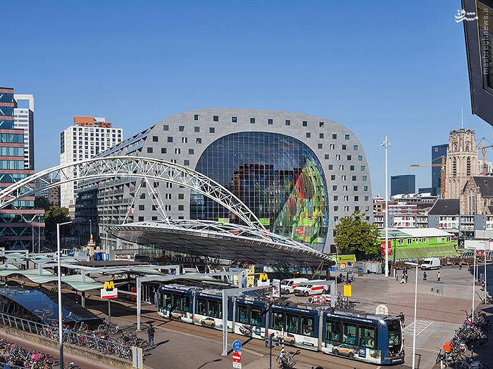 ساخت بنایی شگفت انگیز در هلند
