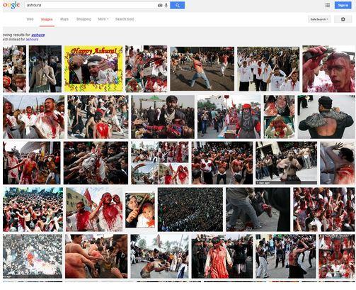 گوگل و تخریب شیعیان