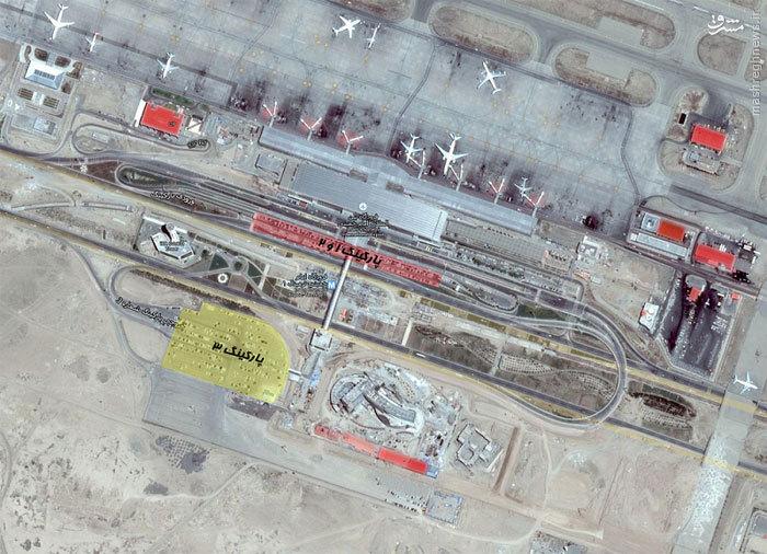 استقبال جالب فرودگاه امام خمینی(ره) از حجاج+عکس