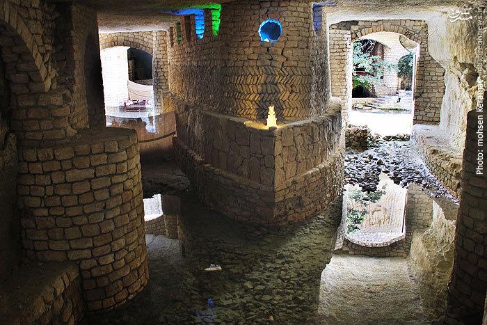 شهری زیرزمینی در جزیره کیش