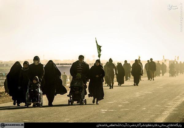 دستور رهبر انقلاب در جهت تسهیلات لازم را برای زائران اربعین