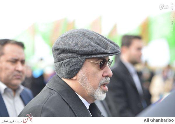 عکس تیپ زمستانی دکتر ظریف