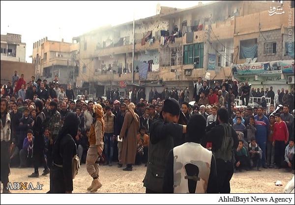 داعش یک جوان سوری را سنگسار کرد + تصاویر