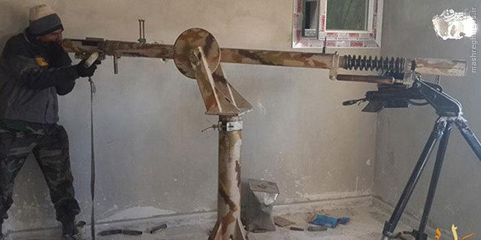 عکس/ سلاح عجیب داعش در عین العرب