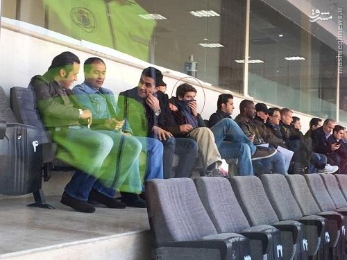 عکس/ پسر کیروش در ورزشگاه آزادی