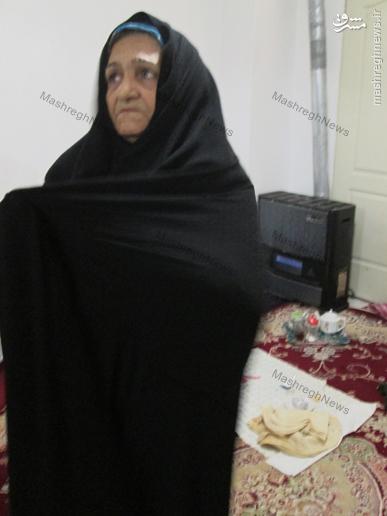مادری که برای مخارج جانبازش مجبور به کارگری است!+عکس و فیلم