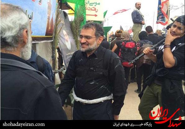 عکس/ وزیر سابق ارشاد در پیاده روی اربعین
