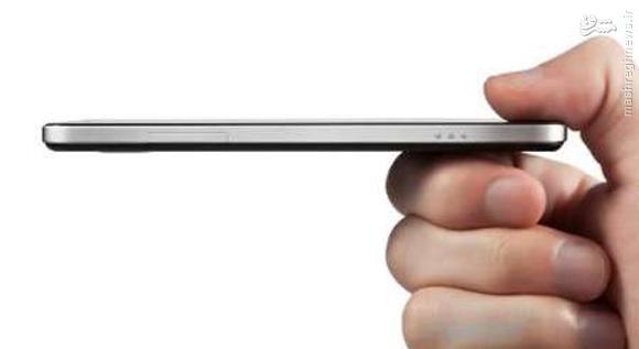 ساخت باریکترین تلفن همراه جهان +عکس