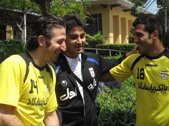 جنجالیترین بازیکن در اردوی تیم ملی (عکس)