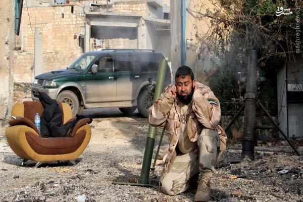عکس/ جنگ و استراحت به سبک داعش