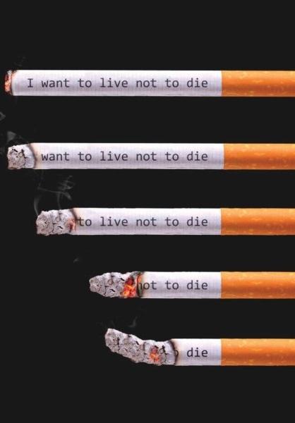 سیگار نکشید+عکس