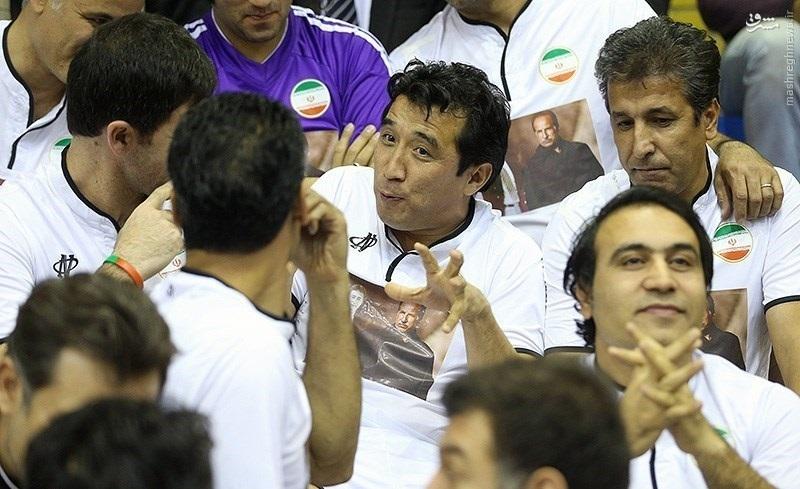 عکس/ دو آقای فوتبال آسیا در یک قاب