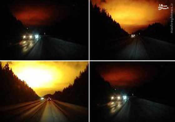 عکس/ پدیدهای عجیب در آسمان روسیه