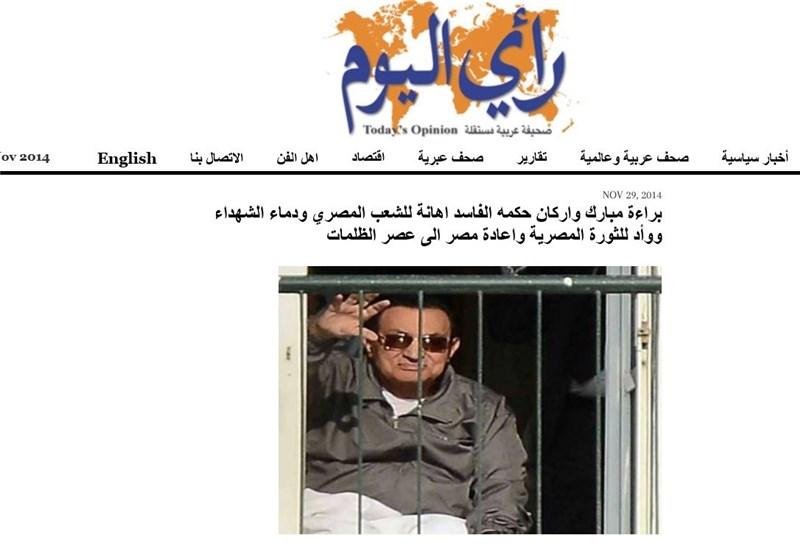807714 179 واکنش ها به تبرئه دیکتاتور مصر