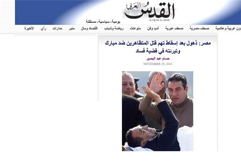 807715 102 واکنش ها به تبرئه دیکتاتور مصر