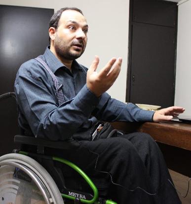 از شرایط نبرد تا وضعیت سوریه در گفتگو با اولین جانباز قطع نخاع مدافع حرم