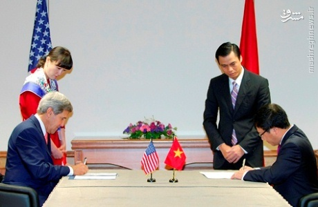 آیا دولت آمریکا توانست بدون موافقت کنگره با ویتنام توافق کند؟
