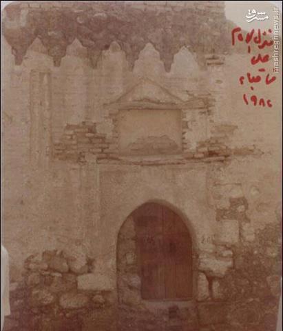 عکس/ خانه حضرت علی (ع) و فاطمه(س) در مدینه