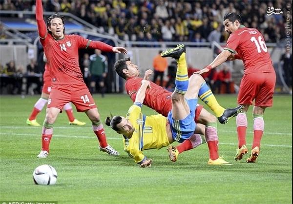 سوئد با 3 گل ایران را شکست داد + حواشی