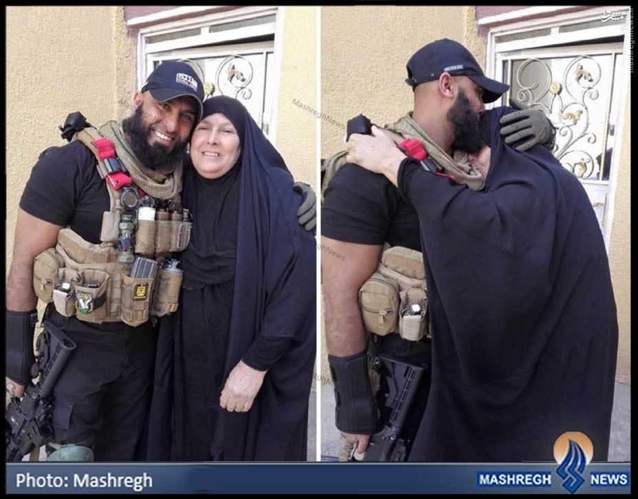 عکس/ مادری که کابوسی برای «داعش» تربیت کرد