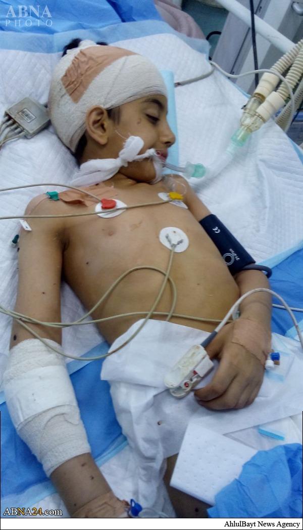 عکس/ برای این فرزند شهید دعا کنید