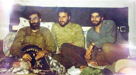 عکسی نادیده از رهبر انقلاب در زمان جنگ