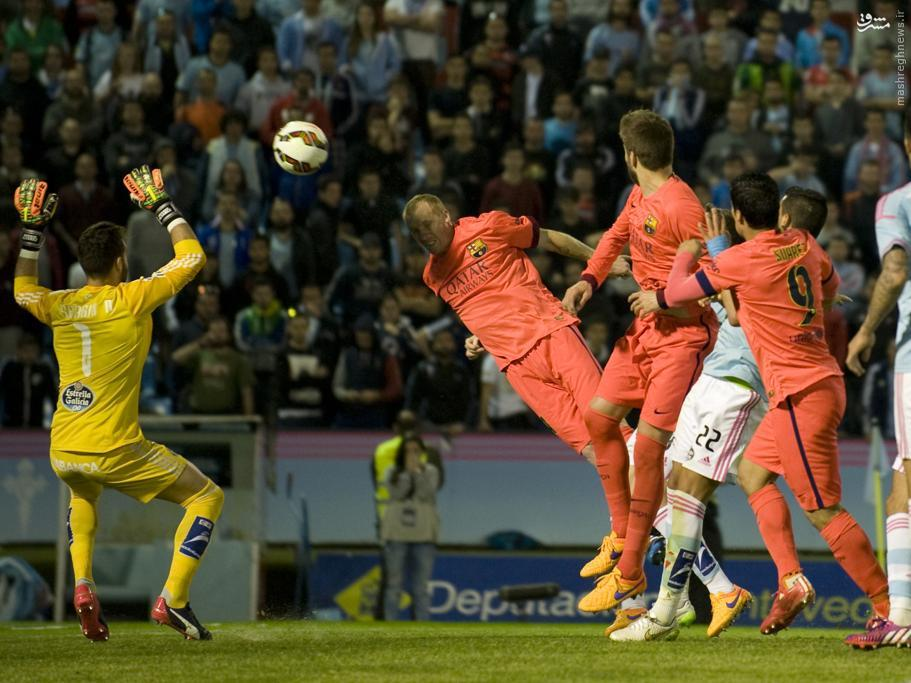 پیروزی دشوار بارسلونا در زمین سلتاویگو