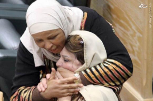فیلم/ جدال نمایندگان زن اردنی در پارلمان