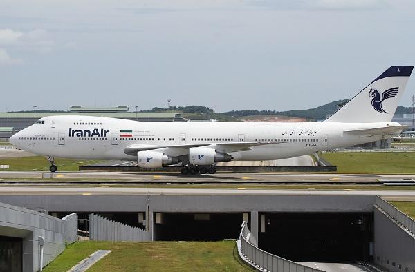 عکس/ هواپیمای ایرانی که عربستان اجازه فرود به آن نداد
