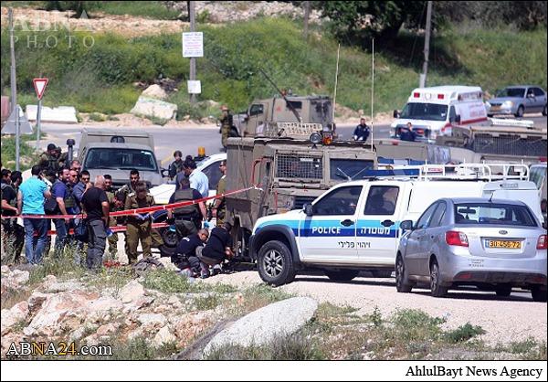 هلاکت نظامی صهیونیست در حمله جوان فلسطینی +عکس