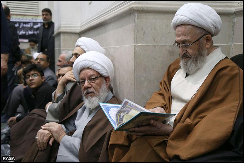 دیدار رهبر انقلاب اسلامی با مراجع تقلید