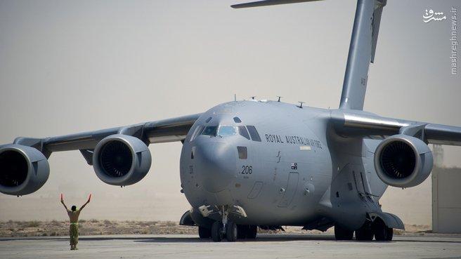 خرید هواپیمای استراتژیک توسط استرالیا+عکس