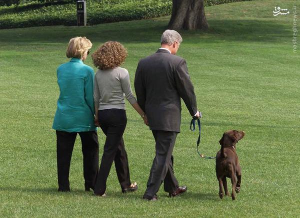زندگی محرمانه بیل و هیلاری کلینتون در کاخ سفید