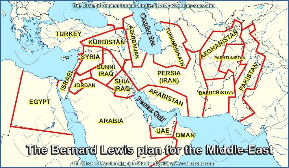 برنارد لوئیس؛ از نظریه «برخورد تمدنها» تا طراحی نقشه «تجزیه ایران»