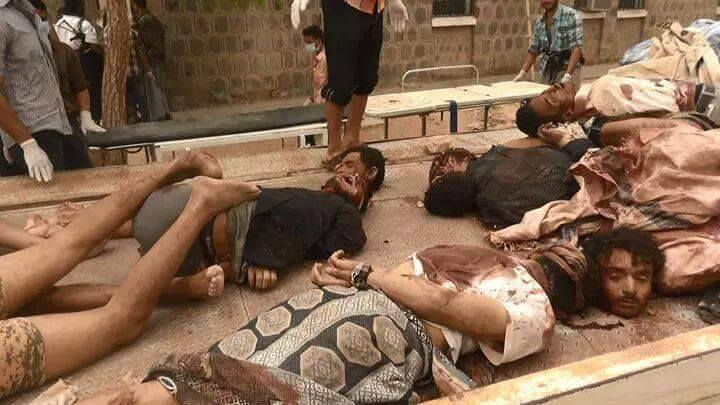 اعدام و ذبح 15 سرباز یمنی +عکس