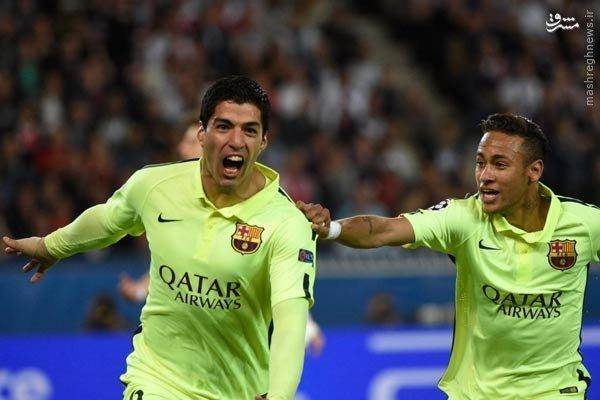برتری پرگل بارسلونا در خانه پاریسن ژرمن/ شکست سنگین بایرن در خانه پورتو