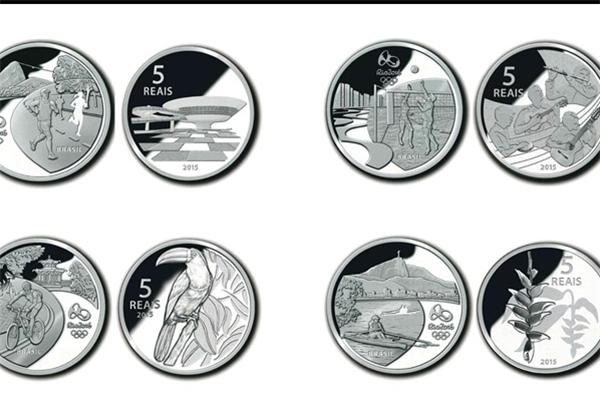 از سکه?های المپیک ریو رونمایی شد +تصاویر