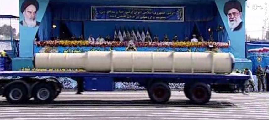 سامانه موشکی اس 300 ایرانی به رژه ارتش آمد