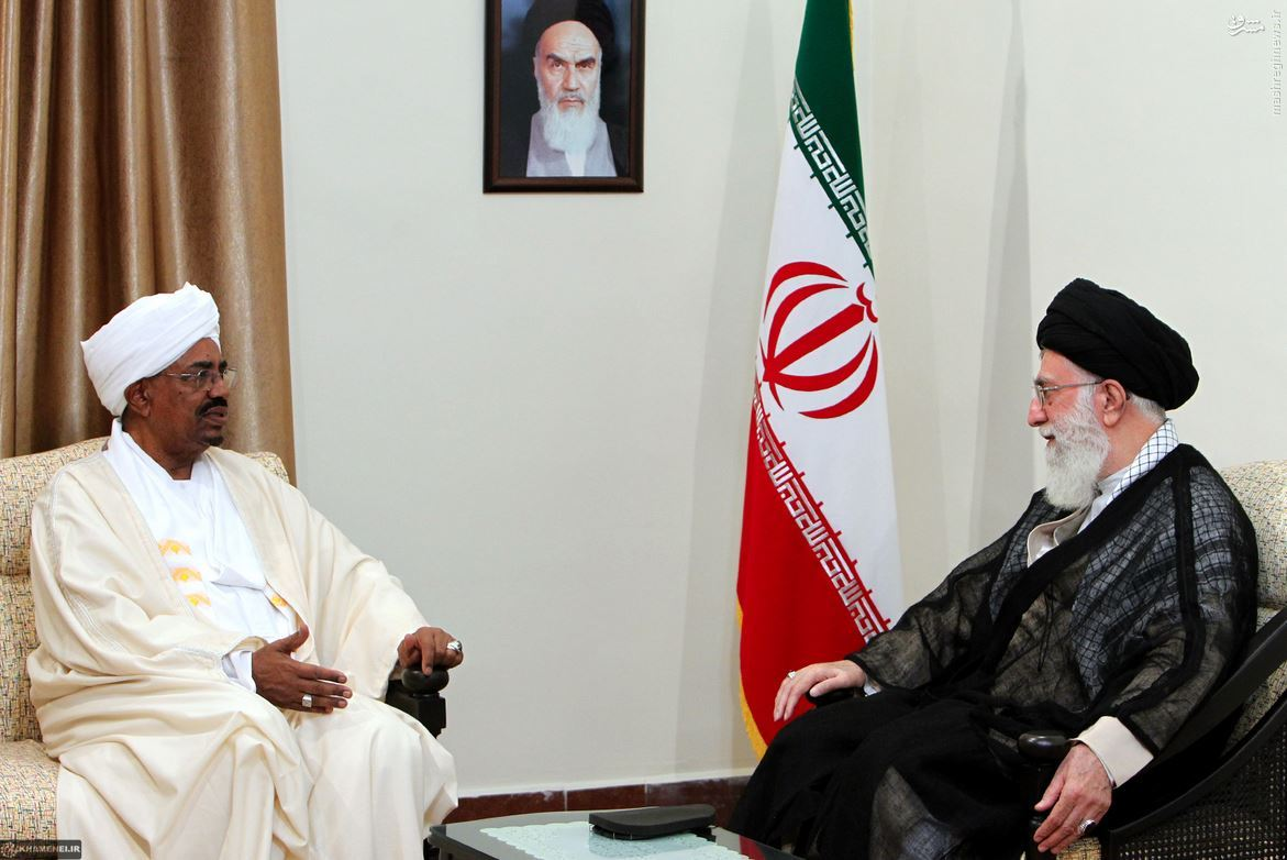 Risultati immagini per ایران و سودان روابط