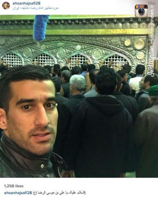 ع چاق ایرانی عکس/ لژیونر ایرانی در حرم امام رضا (ع) - مشرق نیوز